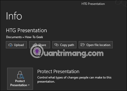 Cách khóa và mở khóa file Powerpoint để chỉnh sửa - Ảnh minh hoạ 6