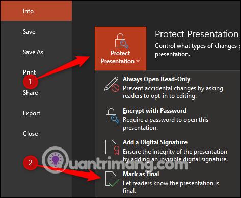 Cách khóa và mở khóa file Powerpoint để chỉnh sửa - Ảnh minh hoạ 8