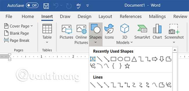 Cách xây dựng bản đồ tư duy trong Microsoft Word - Ảnh minh hoạ 3