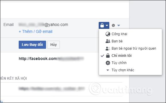 Gỡ ứng dụng Facebook