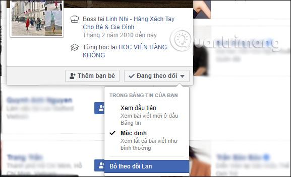 Cách hủy theo dõi tài khoản Facebook - Ảnh minh hoạ 10
