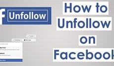 Cách hủy theo dõi tài khoản Facebook