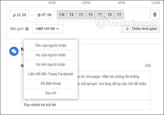 Hướng dẫn thiết lập tự động trả lời tin nhắn trên Fanpage Facebook - Ảnh minh hoạ 15