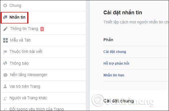 Hướng dẫn thiết lập tự động trả lời tin nhắn trên Fanpage Facebook - Ảnh minh hoạ 2