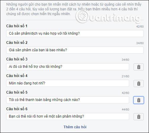 Hướng dẫn thiết lập tự động trả lời tin nhắn trên Fanpage Facebook - Ảnh minh hoạ 4