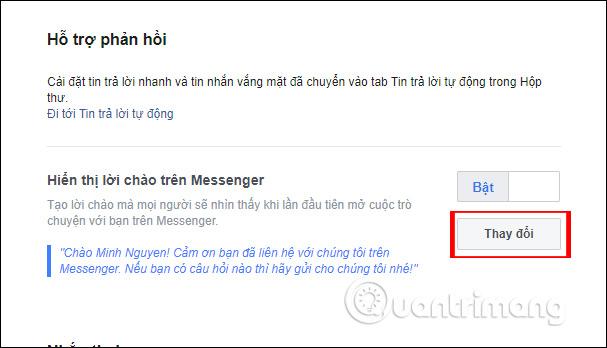 Hướng dẫn thiết lập tự động trả lời tin nhắn trên Fanpage Facebook - Ảnh minh hoạ 7