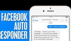 Hướng dẫn thiết lập tự động trả lời tin nhắn trên Fanpage Facebook