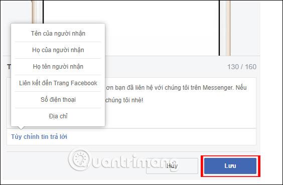 Hướng dẫn thiết lập tự động trả lời tin nhắn trên Fanpage Facebook - Ảnh minh hoạ 9