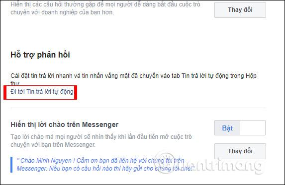 Hướng dẫn thiết lập tự động trả lời tin nhắn trên Fanpage Facebook - Ảnh minh hoạ 10