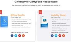iMyFone tặng miễn phí hai phần mềm iMyFone TunesFix và Umate Mac Cleaner