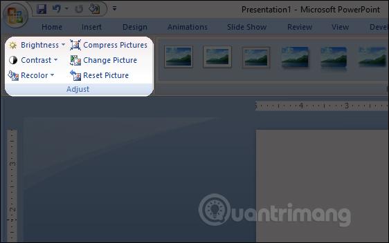 MS PowerPoint 2007 - Bài 7: Chèn hình ảnh và đồ họa trong slide - Ảnh minh hoạ 3