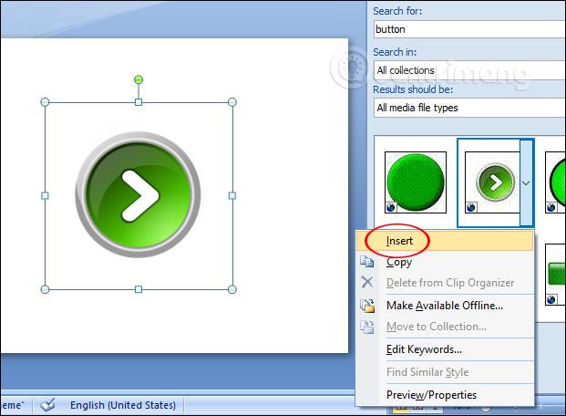 MS PowerPoint 2007 - Bài 7: Chèn hình ảnh và đồ họa trong slide - Ảnh minh hoạ 10