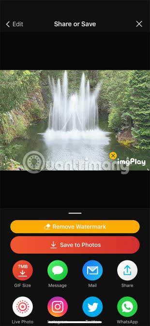 Nó tạo ra các ảnh động sẵn sàng để sử dụng cho web