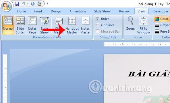 MS PowerPoint 2007 - Bài 11: In bản trình chiếu - Ảnh minh hoạ 4