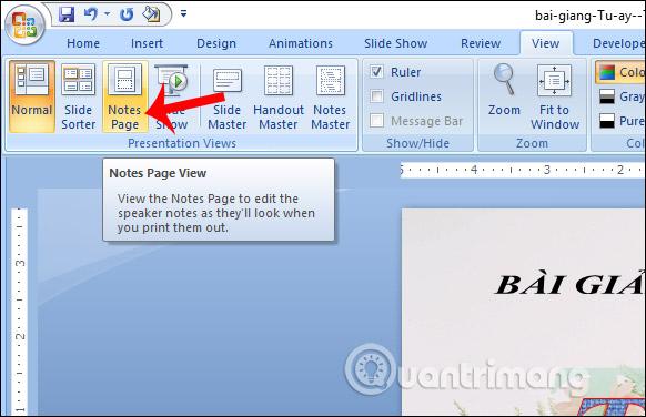 MS PowerPoint 2007 - Bài 11: In bản trình chiếu - Ảnh minh hoạ 9