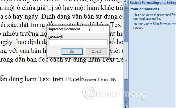 Cách để không cho người khác copy và chỉnh sửa file Word - Ảnh minh hoạ 14