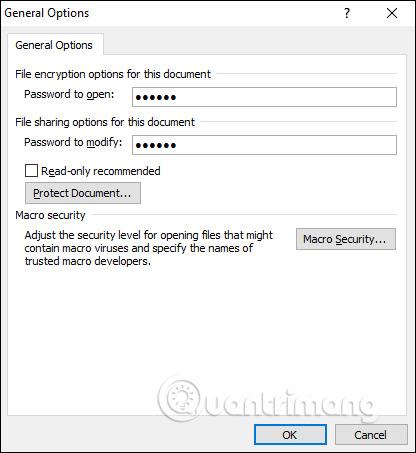 Cách để không cho người khác copy và chỉnh sửa file Word - Ảnh minh hoạ 3