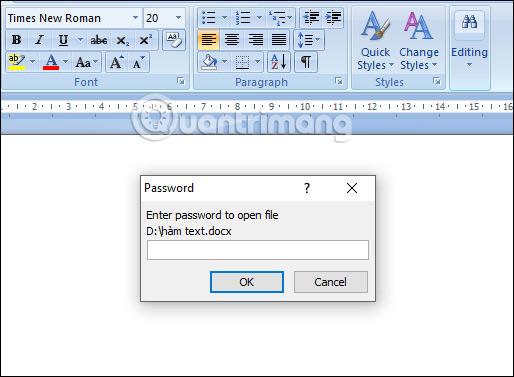 Cách để không cho người khác copy và chỉnh sửa file Word - Ảnh minh hoạ 6