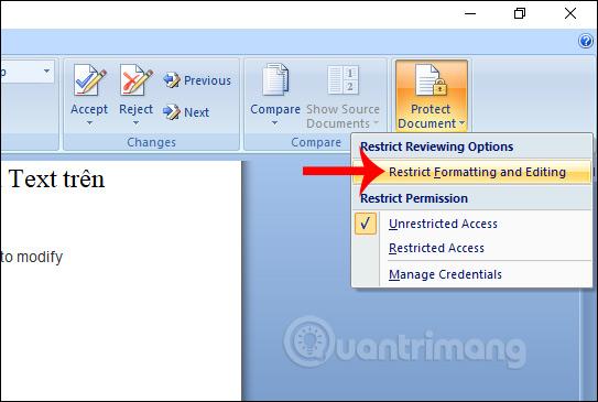 Cách để không cho người khác copy và chỉnh sửa file Word - Ảnh minh hoạ 7