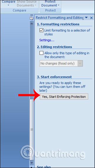 Cách để không cho người khác copy và chỉnh sửa file Word - Ảnh minh hoạ 8