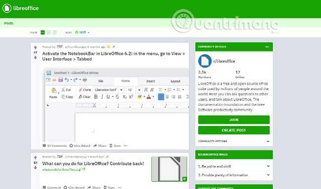 So sánh LibreOffice và OpenOffice