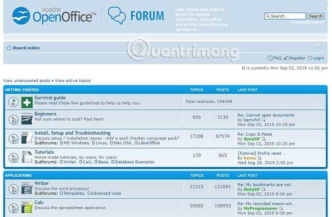 So sánh LibreOffice và OpenOffice - Ảnh minh hoạ 2