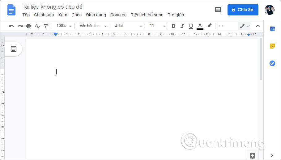 Một số đặc tính cơ bản của Google Docs