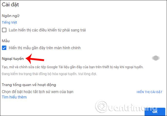 Một số đặc tính cơ bản của Google Docs - Ảnh minh hoạ 7