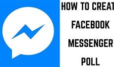 Cách tạo bảng khảo sát bình chọn trong Messenger