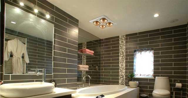 đèn sưởi nhà tắm có điều khiển