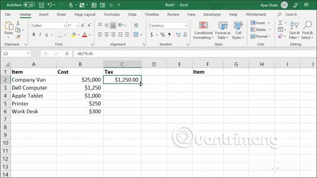 23 cách sử dụng tính năng Paste trong Excel - Ảnh minh hoạ 15