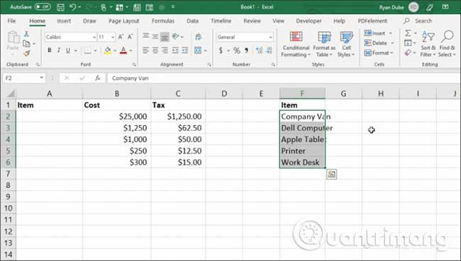 23 cách sử dụng tính năng Paste trong Excel - Ảnh minh hoạ 18