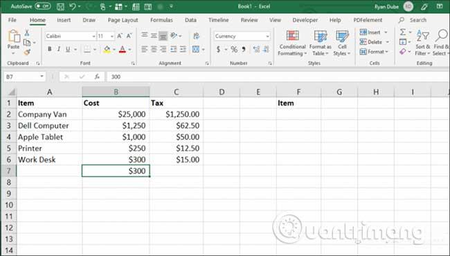 23 cách sử dụng tính năng Paste trong Excel - Ảnh minh hoạ 19