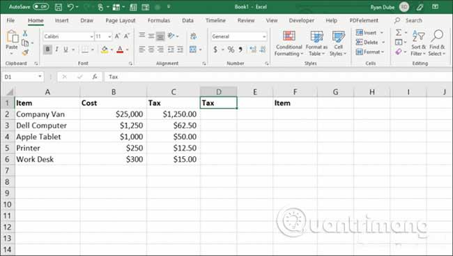 23 cách sử dụng tính năng Paste trong Excel - Ảnh minh hoạ 20