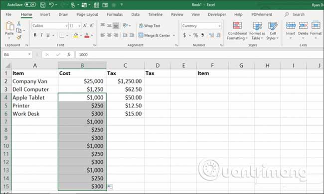 23 cách sử dụng tính năng Paste trong Excel - Ảnh minh hoạ 22