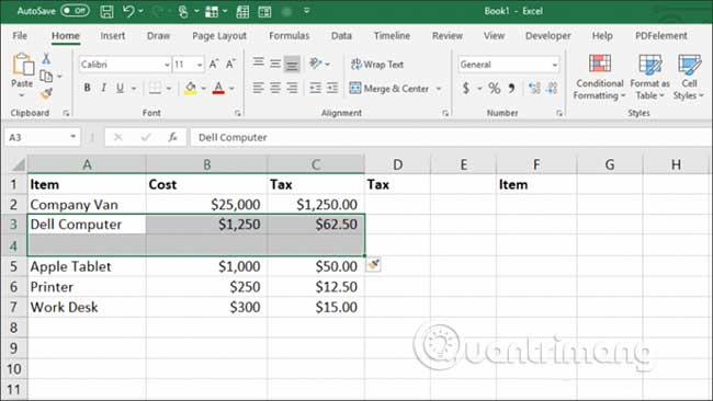 23 cách sử dụng tính năng Paste trong Excel - Ảnh minh hoạ 23