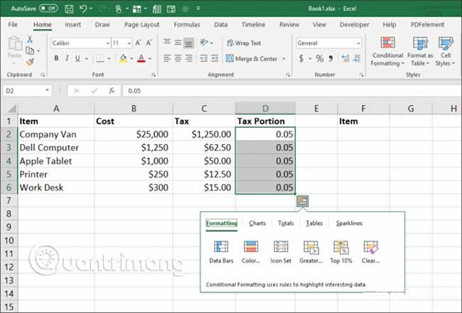 23 cách sử dụng tính năng Paste trong Excel - Ảnh minh hoạ 27