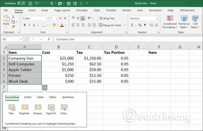 23 cách sử dụng tính năng Paste trong Excel - Ảnh minh hoạ 28