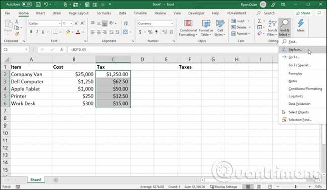 23 cách sử dụng tính năng Paste trong Excel - Ảnh minh hoạ 8