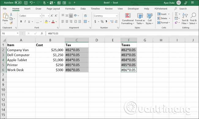 23 cách sử dụng tính năng Paste trong Excel - Ảnh minh hoạ 10