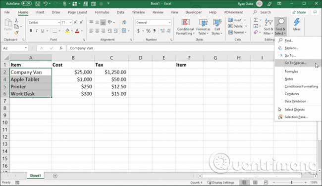 23 cách sử dụng tính năng Paste trong Excel - Ảnh minh hoạ 13
