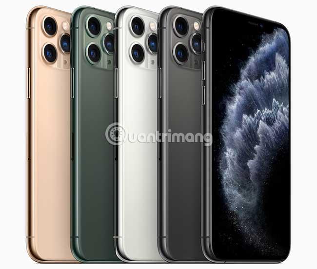 Các mẫu iPhone mới năm 2019