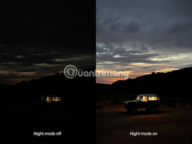 Chế độ Night Mode