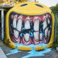 Tròn mắt xem nghệ sĩ graffiti tài năng biến những bức tường xấu xí, tẻ nhạt thành những tác phẩm 3D tuyệt đẹp