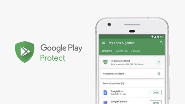 Google Play Protect là bảo mật quan trọng của cửa hàng ứng dụng Play Store