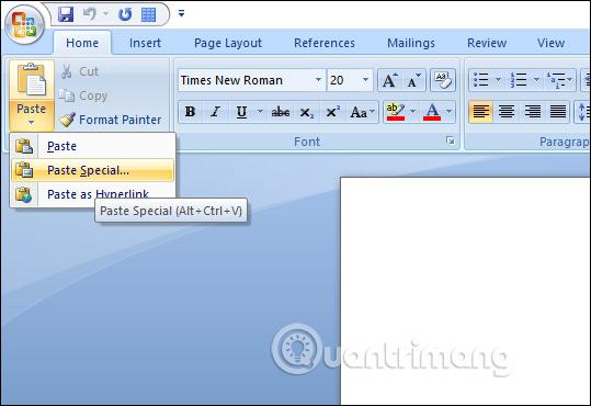 Làm thế nào để sao chép dữ liệu từ Excel sang Word? - Ảnh minh hoạ 2