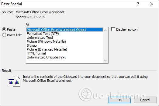 Làm thế nào để sao chép dữ liệu từ Excel sang Word? - Ảnh minh hoạ 3