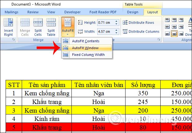 Làm thế nào để sao chép dữ liệu từ Excel sang Word? - Ảnh minh hoạ 7