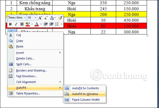 Làm thế nào để sao chép dữ liệu từ Excel sang Word? - Ảnh minh hoạ 8