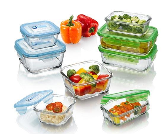 Hãy sử dụng hộp đựng thủy tinh để bảo quản thực phẩm thay vì hộp nhựa